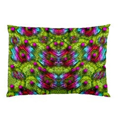 Freedom In Colors And Floral Pillow Case