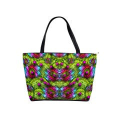 Freedom In Colors And Floral Shoulder Handbags