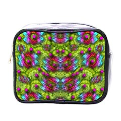 Freedom In Colors And Floral Mini Toiletries Bags