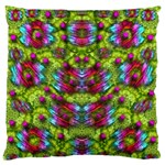 Freedom In Colors And Floral Standard Flano Cushion Case (Two Sides) Back