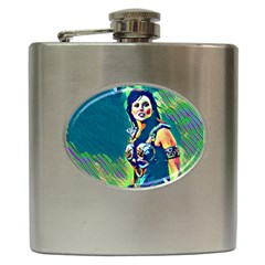 Warrior Princess 1 Hip Flask (6 Oz)