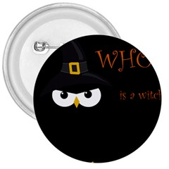 Who is a witch? 3  Buttons