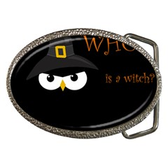 Who is a witch? Belt Buckles