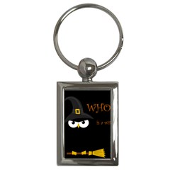 Who is a witch? Key Chains (Rectangle)