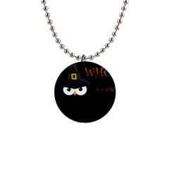 Who is a witch? Button Necklaces