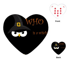 Who is a witch? Playing Cards (Heart)
