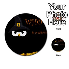 Who is a witch? Multi-purpose Cards (Round)