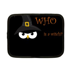 Who is a witch? Netbook Case (Small)