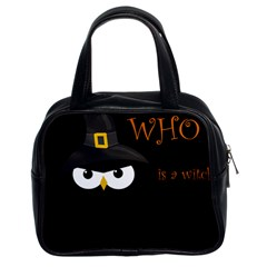 Who is a witch? Classic Handbags (2 Sides)