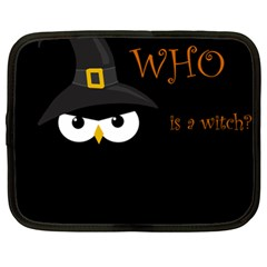 Who is a witch? Netbook Case (XL)