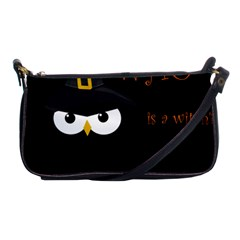 Who is a witch? Shoulder Clutch Bags
