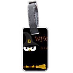 Who is a witch? Luggage Tags (Two Sides)