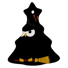 Who is a witch? Christmas Tree Ornament (2 Sides)