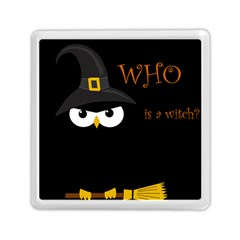 Who is a witch? Memory Card Reader (Square)