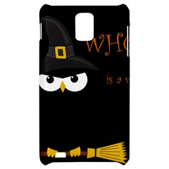 Who is a witch? Samsung Infuse 4G Hardshell Case