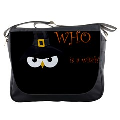 Who is a witch? Messenger Bags