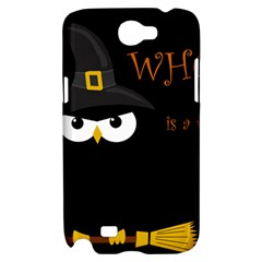Who is a witch? Samsung Galaxy Note 2 Hardshell Case