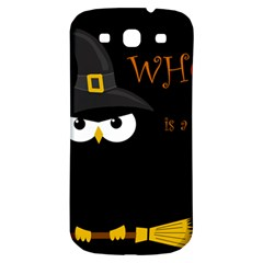 Who is a witch? Samsung Galaxy S3 S III Classic Hardshell Back Case