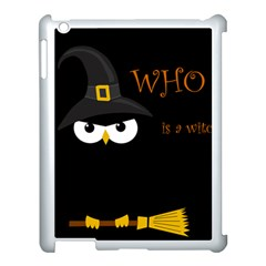 Who is a witch? Apple iPad 3/4 Case (White)