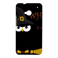 Who is a witch? HTC One M7 Hardshell Case
