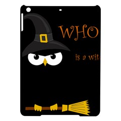 Who is a witch? iPad Air Hardshell Cases