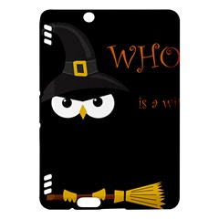 Who is a witch? Kindle Fire HDX Hardshell Case