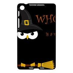 Who is a witch? Nexus 7 (2013)