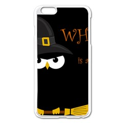 Who is a witch? Apple iPhone 6 Plus/6S Plus Enamel White Case