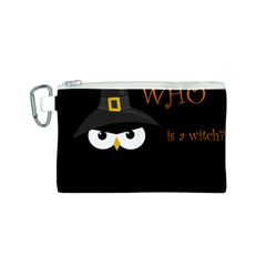 Who is a witch? Canvas Cosmetic Bag (S)