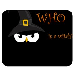 Who is a witch? Double Sided Flano Blanket (Medium)