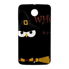 Who is a witch? Nexus 6 Case (White)