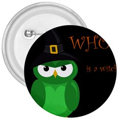 Who is a witch? - green 3  Buttons