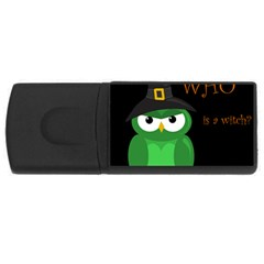 Who is a witch? - green USB Flash Drive Rectangular (4 GB)