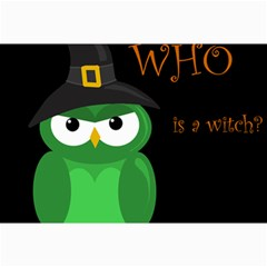 Who is a witch? - green Collage Prints