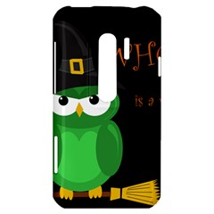 Who is a witch? - green HTC Evo 3D Hardshell Case