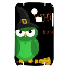 Who is a witch? - green Samsung S3350 Hardshell Case