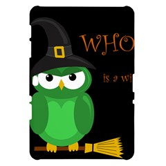 Who is a witch? - green Samsung Galaxy Tab 10.1  P7500 Hardshell Case