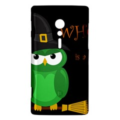 Who is a witch? - green Sony Xperia ion
