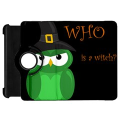 Who is a witch? - green Kindle Fire HD Flip 360 Case