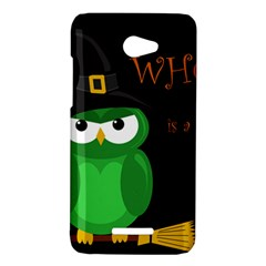 Who is a witch? - green HTC Butterfly X920E Hardshell Case