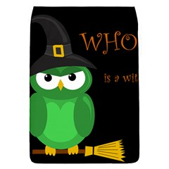 Who is a witch? - green Flap Covers (S)