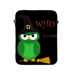 Who is a witch? - green Apple iPad 2/3/4 Protective Soft Cases