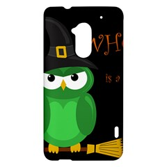 Who is a witch? - green HTC One Max (T6) Hardshell Case