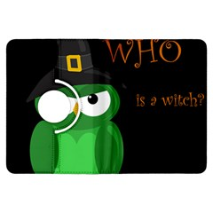 Who is a witch? - green Kindle Fire HDX Flip 360 Case