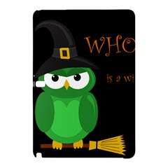 Who is a witch? - green Samsung Galaxy Tab Pro 12.2 Hardshell Case