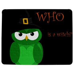 Who Is A Witch?   Green Jigsaw Puzzle Photo Stand (rectangular)