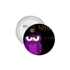 Who is a witch? - purple 1.75  Buttons