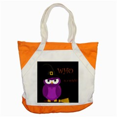 Who is a witch? - purple Accent Tote Bag