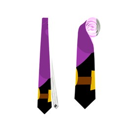 Who is a witch? - purple Neckties (One Side)