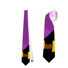 Who is a witch? - purple Neckties (Two Side)